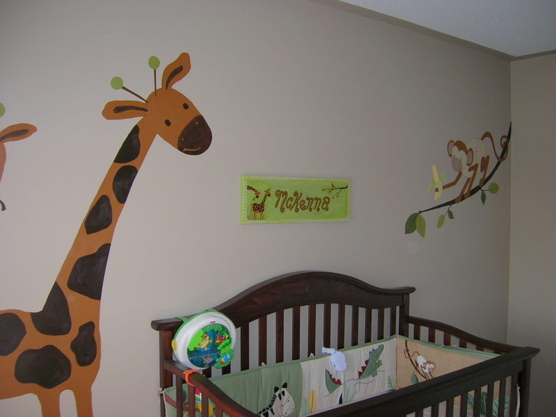 Nursery wall decor best baby decoration for Baby wall decoration ideas